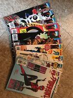 Lot of 10 Spider-Girl Marvel Comic Books #0-8, 10