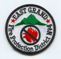 East Grand Fire Protection District Number 4 Department Rescue Patch Colorado CO
