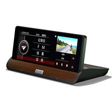 "7"" HD Android 4.4 Rearview Mirror Driving Video Recorder Car Dash Cam + Camara"