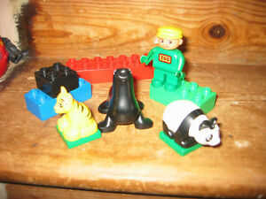 Lego Duplo Zoo Safari Animals Wild Animals Selection Set KG Collection D3