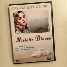 MISFATTO BIANCO RARO DVD - GRETA SCACCHI HUGH GRANT GERALDINE CHAPLIN JOHN HURT