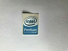 Intel Pentium Dual Core Inside Sticker 19x24mm approx Case Badge For PC Computer