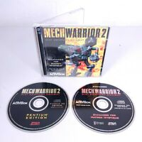 Mechwarrior 2 (PC-CDROM, 1995) Pentium Processor/Matrox Edition Activision