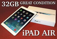 Apple iPad Air 32GB, White, Wi-Fi - GREAT CONDITION!!!