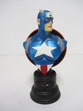 Bowen Designs ~ Captain America Mini Bust ~ 1369/5000 ~ 2001 Marvel