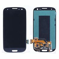 Für Samsung Galaxy S3 i9300 i9305 blue LCD Display Touch Screen & Frame