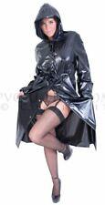 Regenmantel Raincoat Manteau de pluie Impermeable PVC -L - XL - XXL schwarz matt