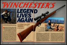 1990 WINCHESTER Model 70 Rifle Legend Lives 6-page Again