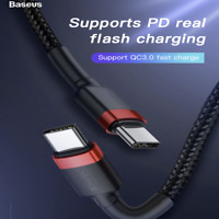 USB Type-C to Type-C 3.1 Charging Cable Male to Male Sync for MacBook Hi-speed