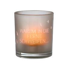"""Räder Design Teelichthalter  Poesielicht """"WARUM IN DIE FERNE SCHWEIFEN 13169"""