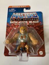 "Battle Armor He-Man - Master of the Universe 2"" Eternia Minis 2020-2021 MOTU"