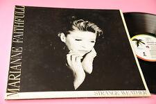MARIANNE FAITHFULL LP STRANGE WEATHER ORIG ITALIE EX GATEFOLD COVER