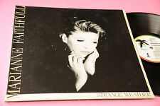 MARIANNE FAITHFULL LP STRANGE WEATHER ORIG ITALY EX GATEFOLD COVER