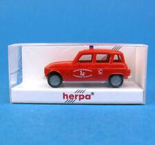 Herpa H0 084048 RENAULT 4 R4 Feuerwehr NL Niederlande PKW HO 1:87 OVP Box