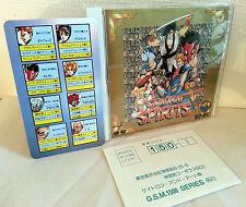 SNK SAMURAI SPIRITS OST ORIGINAL SOUND TRACK AUDIO CD USATO OTTIMO JAP VBC 52732