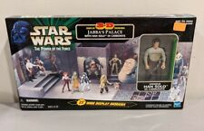 Star Wars POTF2 3-D Diorama Jabba's Palace & Han Solo In Carbonite New Sealed
