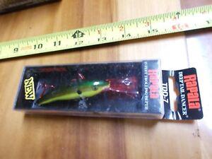 Rapala TDD-7 Bleeding Hot Olive Deep Tail Dancer Rattling Fishing Lure TDD-7 BHO