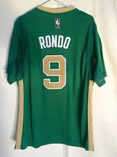 Adidas SWINGMAN 14-15 NBA Jersey Boston Celtics Rajon Rondo Green St. Pats sz XL