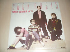 """Cock Robin -Thought You Were On My Side / Peace on Earth- 7"""""""