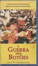 A Guerra Dos Botoes (War of The Buttons)(VHS, 1994) Portuguese ONLY