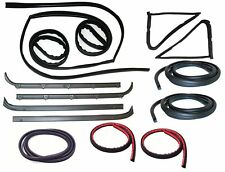 1980-86 Ford F-250  Belt Weatherstrip--Window Channel--Door Seal Kit