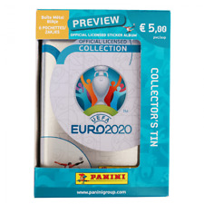 Panini EURO 2020 UEFA Preview - TIN BOX - 6 Tüte pochette Belgium
