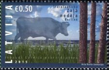 Latvia 2015 Green Week/Cow/Cattle/Animals/Nature/Farming/Trees 1v (lv1005)