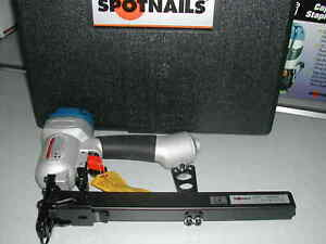 """Spotnails RC1016  1"""" Wide Corrugated Fastener Nailer Stapler (NEW) 1/4"""" to 5/8"""""""