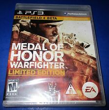 Medal of Honor: Warfighter - Limited Edition Sony PlayStation 3  New! Free Ship!