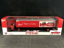 M2 Machines Coca-Cola 1958 Chevy Spartan LCF Semi w/1957 Chevy Bel Air 56000 NIB