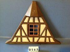(D562) playmobil pièce mur façade maison chateau ref 3666 3442 3447 3441 3448