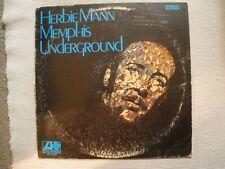 HERBIE MANN Memphis Underground Orig 1969 VG/G Atlantic SD 1522-STLP