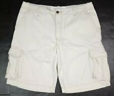 Aeropostale Men's Cargo Tan Light Brown Chino Shorts 38
