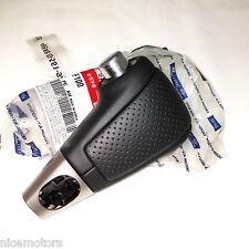 Genuine Leather A/T Gear Shift Knob Black For KIA SPORTAGE 2005 2010