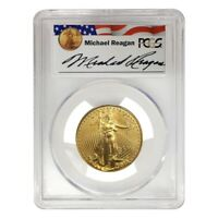 2001 1/2 oz $25 Gold American Eagle PCGS MS 69 - Reagan Legacy Series