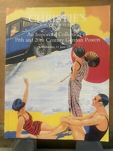 Christie's Amsterdam 19th & 20th C. German Poster Collection 6/11/97 All Color
