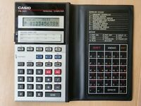 Pocket Personal Computer CASIO PB-220 / 10 KB, BASIC-Calculator #559