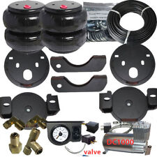 Air Helper Spring Kit Airbagit Bolt On 2001 - 2010 Chevy GMC 2500 Load Level