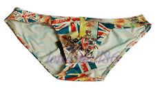 "Men's Smooth silk Briefs Bikinis Size L(waist 32""- 38"") PANTIES pants"