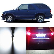 Alla Lighting License Plate Light 194 White 12V LED Bulbs for 95~05 Chevy Blazer