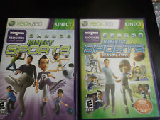 Kinect Sports Ultimate Collection Xbox 360 Season One & Two CIB FREE SHIPPING!!