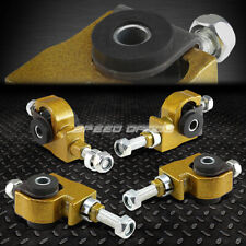 ADJUSTABLE FRONT CAMBER ADJUSTER KIT 90-97 HONDA ACCORD/CIVIC/92-96 PRELUDE GOLD