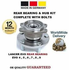 FOR MITSUBISHI LANCER EVO 4 5 6 7 8 9 1996--> 1 x REAR WHEEL BEARING & HUB KIT