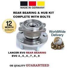 para Mitsubishi Lancer Evo 4 5 6 7 8 9 1996> 1x cojinete de rueda trasera & Cubo