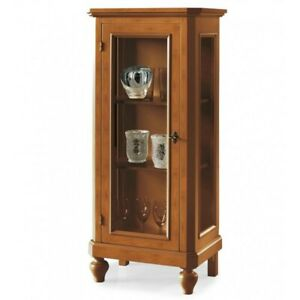 Display Cabinets Color Walnut, 1 Panel (515)