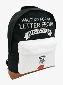 Harry Potter Roxy 'Waiting For My Letter From Hogwarts' School Bag Rucksack Back