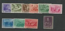 Montenegro, Postage Stamp, #2N33-2N42 Mint Hinged, 1943 Italian Occupation