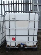 USED 1000 LITRE IBC WATER BUTT CONTAINER