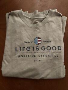 NWOT Life Is Good Men's XL Tee.