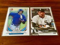 (1) Luis Robert & (1) Eloy Jimenez⚾⚾Bowman Rookie Card RC Lot⚾⚾Chicago White Sox